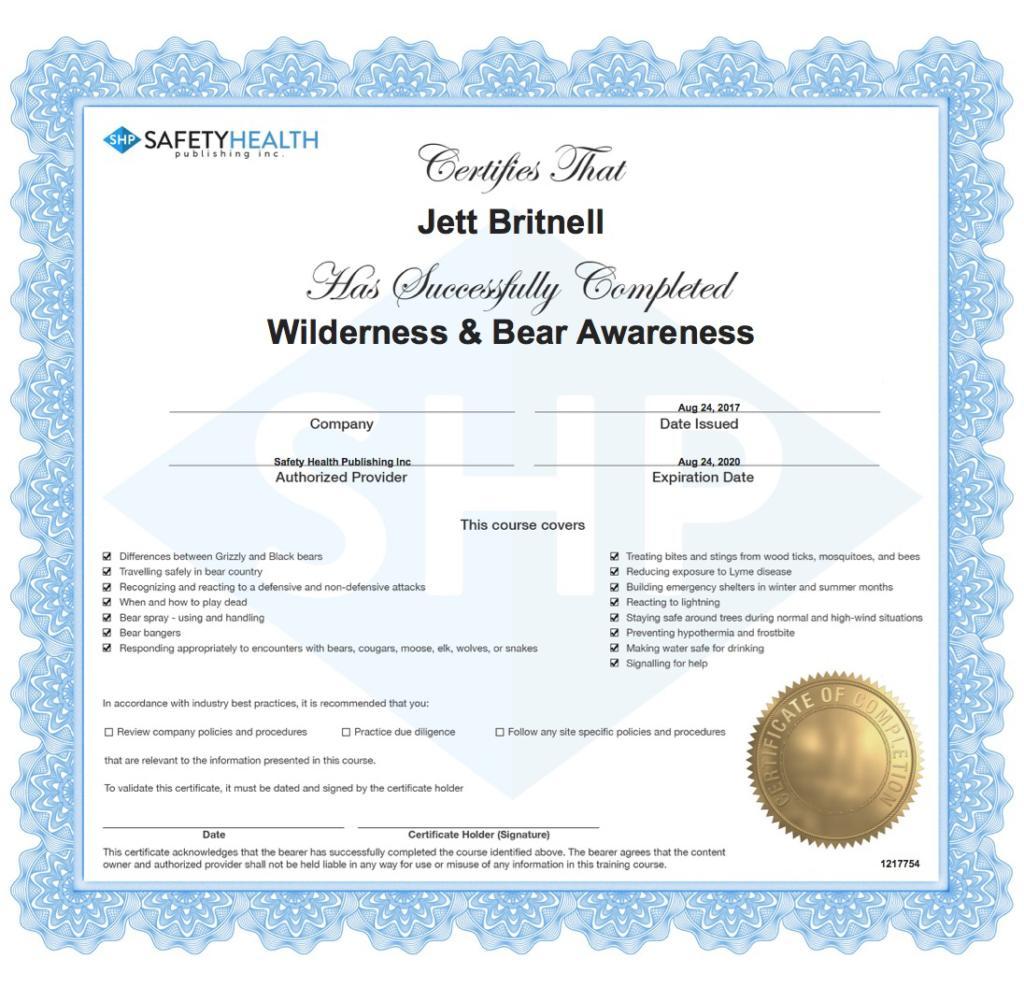 Awareness Certificate Best Design Sertificate 2018