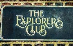 Explorers Club Sign Jett Britnell